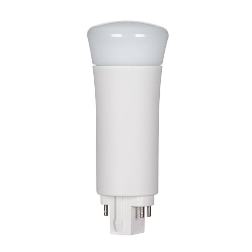 SATCO LED PL G24q 9 Watt LED CFL Replacements Pin Based Bulb with 3500K 950 Lumens 82 CRI and 120 Degrees Beam