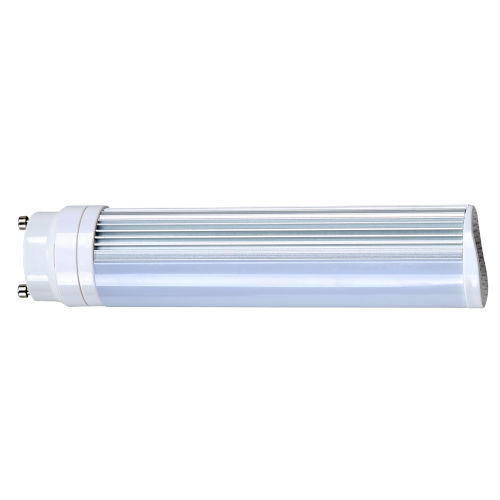 Nuvo Lighting SATCO Frosted White LED PL GU24 8 Watt LED CFL Replacements Pin Based Bulb with 3500K 725 Lumens 83 CRI and 120