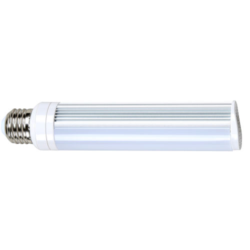 SATCO Frosted White LED PL Medium 8 Watt LED CFL Replacements Pin Based Bulb with 5000K 725 Lumens 83 CRI and 120 Degrees