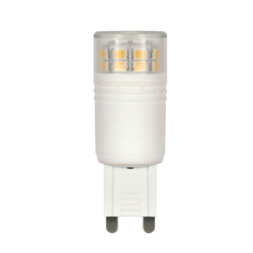 SATCO Clear LED T4 Repl. 3 Watt Minature LED Bulb with 5000K 220 Lumens 80 CRI and 360 Degrees Beam