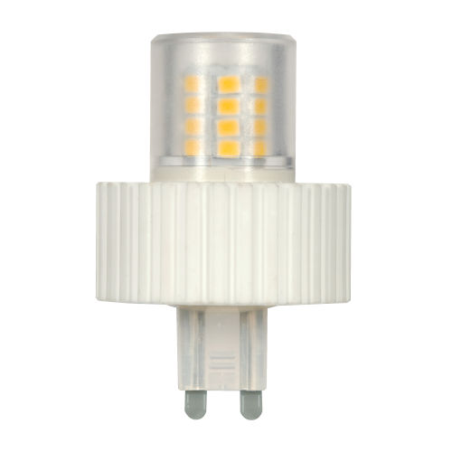 SATCO Clear LED T4 Repl. 5 Watt Minature LED Bulb with 3000K 450 Lumens 80 CRI and 360 Degrees Beam