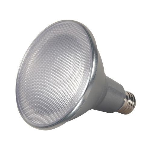 SATCO Clear LED PAR38 Medium 15 Watt PAR LED Bulb with 2700K 1200 Lumens 80 CRI and 25 Degrees Beam