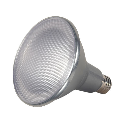 SATCO White LED PAR38 Medium 15 Watt PAR LED Bulb with 2700K 1000 Lumens 90 CRI and 40 Degrees Beam