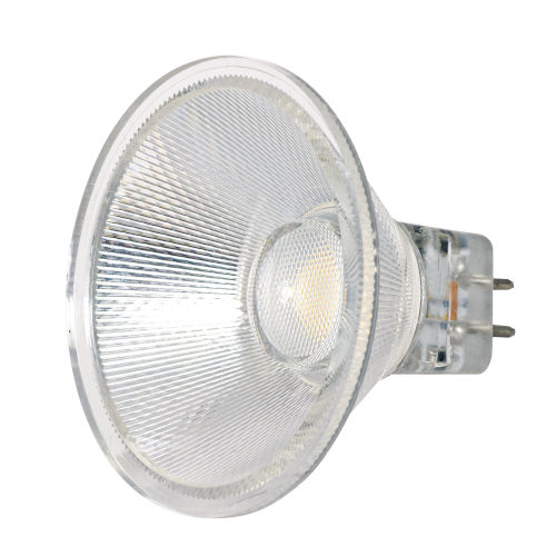 SATCO LED MR16 GU5.3 3 Watt MR LED Bulb with 3000K 330 Lumens 80 CRI and 40 Degrees Beam 12 Volt