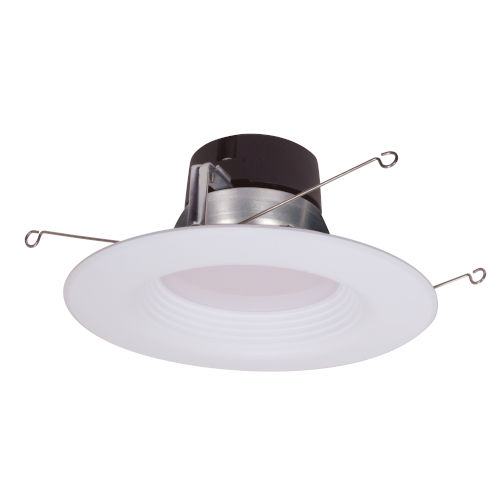 SATCO Frosted White LED Retrofit Connector 17 Watt Fixture RetroFit Bulb with 4000K 1260 Lumens 90 CRI and 90 Degrees Beam