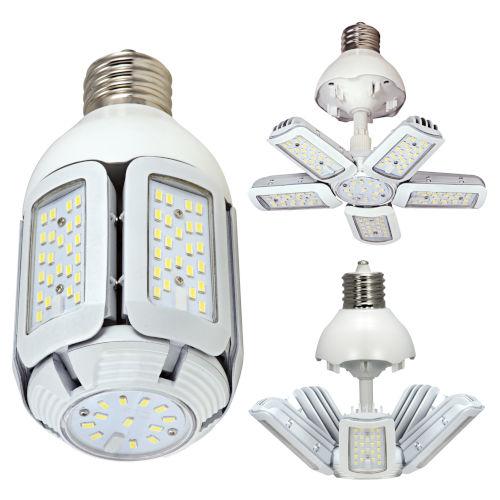 SATCO LED Medium LED 30 Watt HID Replacements Bulb with 2700K 3660 Lumens 83 CRI and 360 Degrees Beam