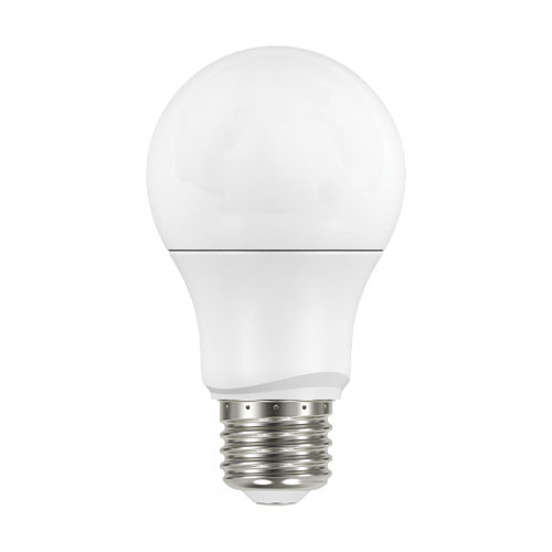 White 5000K Dimmable Medium Base 230 Degree Beam Angle A19 LED Bulb, 4-Pack