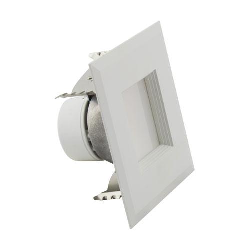 ColorQuick White LED Square Recessed Retrofit Downlight, 6.5W
