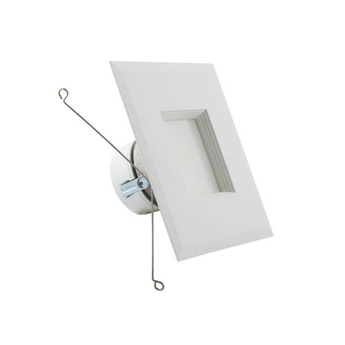 ColorQuick White LED Square Recessed Retrofit Downlight, 11.5W
