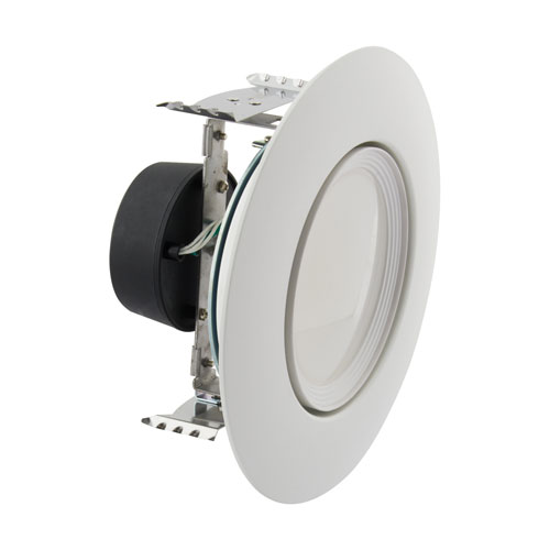 ColorQuick White LED Directional Retrofit Downlight, 10.5W