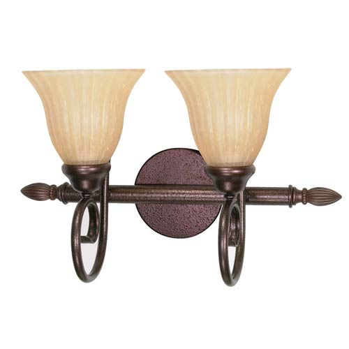 Moulan Two-Light Bath Fixture