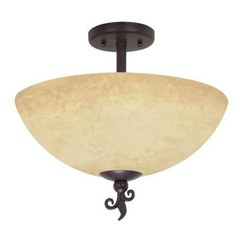 Tapas Semi-Flush Ceiling Light