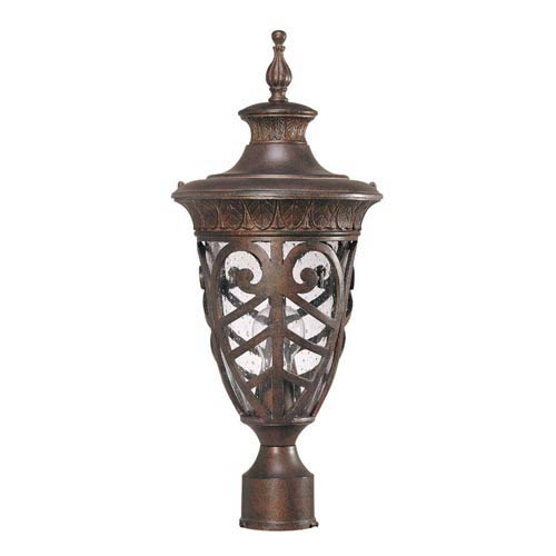 Aston Outdoor Post Mounted Lantern