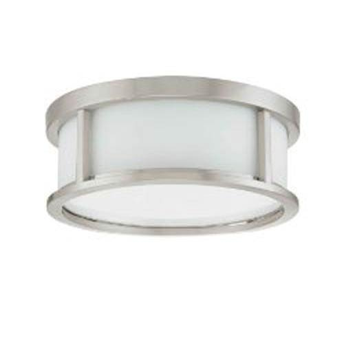 Nuvo Lighting Odeon Brushed Nickel Flush Mount Ceiling Light