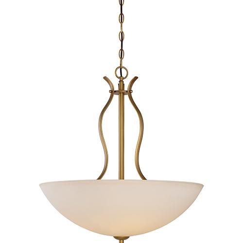 Nuvo Lighting Dillard Natural Brass Four-Light Pendant