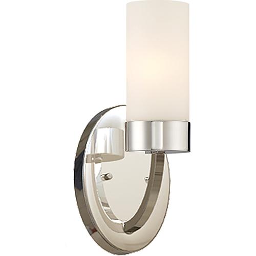 Nuvo Lighting Denver Polished Nickel One-Light Vanity