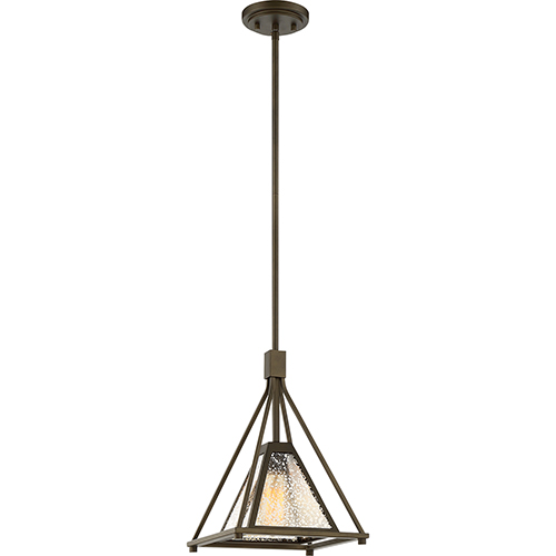 Nuvo Lighting Mystic Forest Bronze One-Light Small Pendant