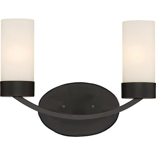 Nuvo Lighting Denver Mahogany Bronze Two-Light Vanity