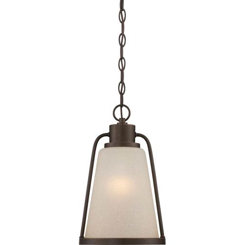 Tolland Mahogany Bronze One-Light LED Outdoor Hanging Lantern