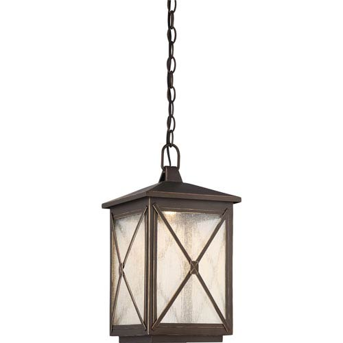 Roxton Umber Bay LED Outdoor Hanging Lantern