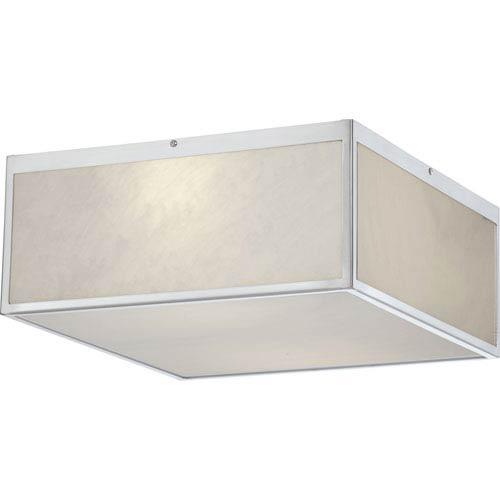 Nuvo Lighting Crate Brushed Nickel 14-Inch LED Flush Mount