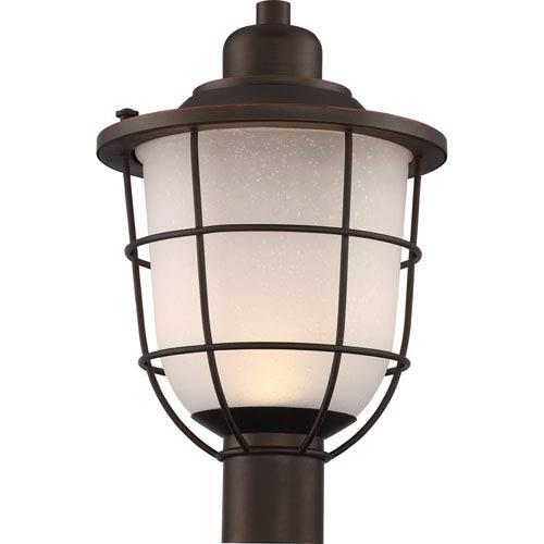 Nuvo Lighting Bungalow Mahogany Bronze Led Outdoor Post Lantern