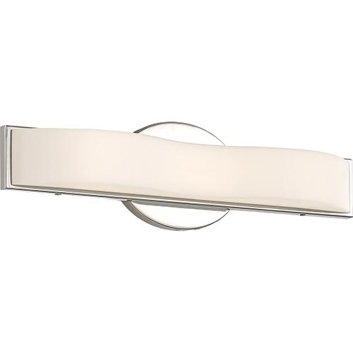 Nuvo Lighting Surf Polished Nickel 16-Inch LED Vanity