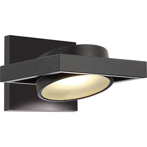 Hawk Textured Black LED Vanity