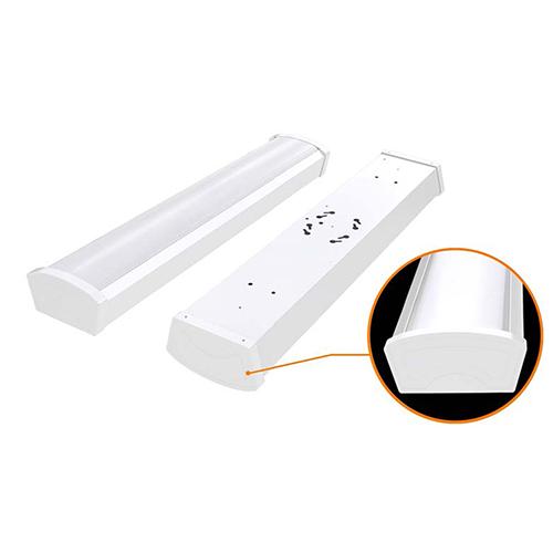 White 4- Ft. Energy Star LED Wrap Around 3000K