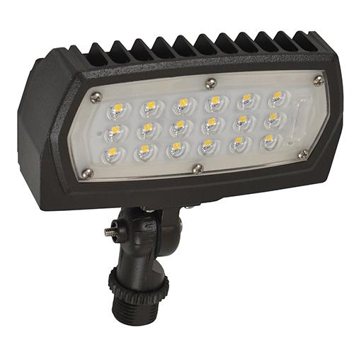 Nuvo Lighting Bronze LED Outdoor Flood Light 12W 5000K