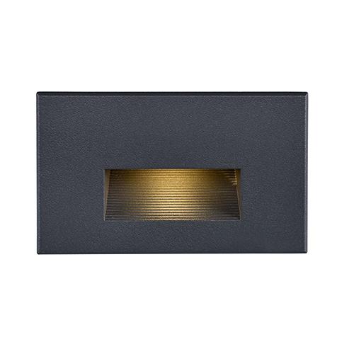 Bronze LED Outdoor Horizontal Step Light