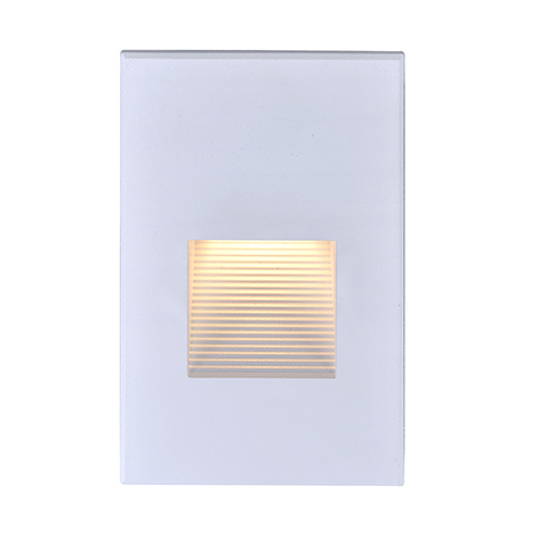 White LED Outdoor Step Light 277 Volts