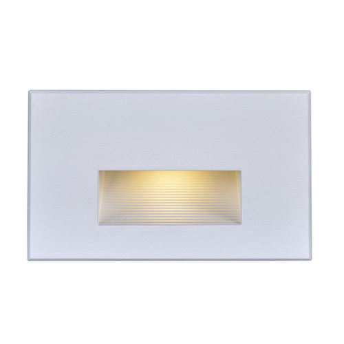 White LED Outdoor Horizontal Step Light 277 Volts