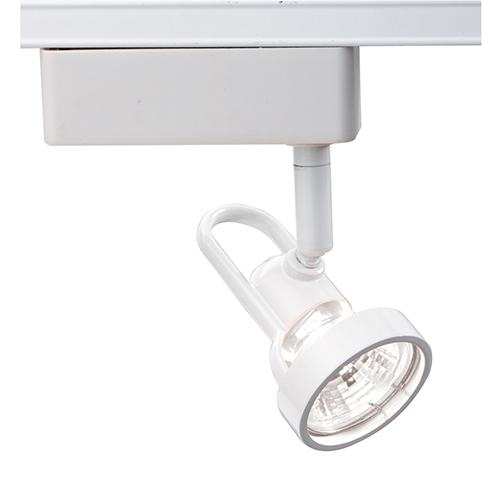 Nuvo Lighting White One-Light Cast Ring Track Head