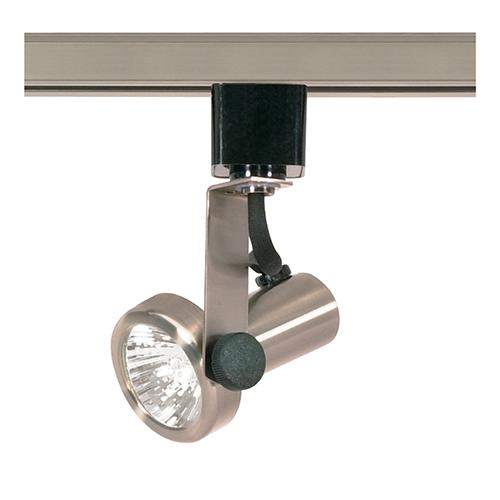 Nuvo Lighting Brushed Nickel One-Light Gimbal Ring Track Head