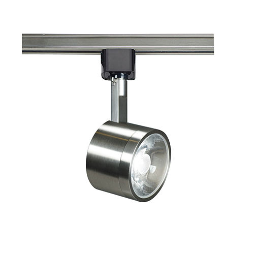 Nuvo Lighting Brushed Nickel Led Track Head With 24 Degree Beam