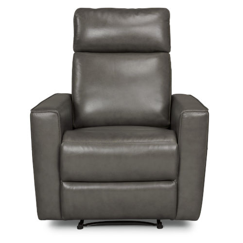 Gray Power Motion Recliner