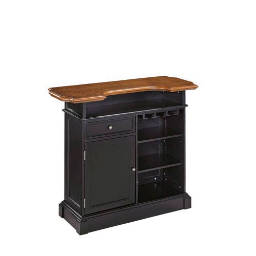 Americana Black/Oak Bar