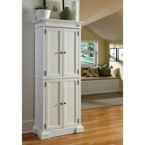 Home Styles Furniture Americana White Pantry
