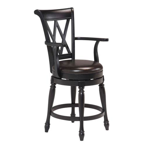 Home Styles Furniture Traditional Swivel Bar Stool 5008 88 Bellacor