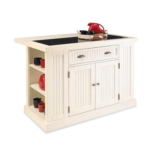Home Styles The Orleans Kitchen Island With Marble Top: Home Styles Furniture The Orleans Palm Mahogany Kitchen