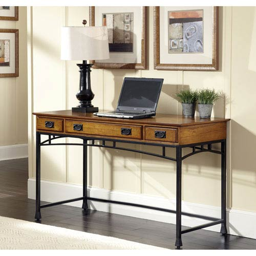 Contemporary Craftsman Living Room: Home Styles Furniture Modern Craftsman Executive Desk 5050