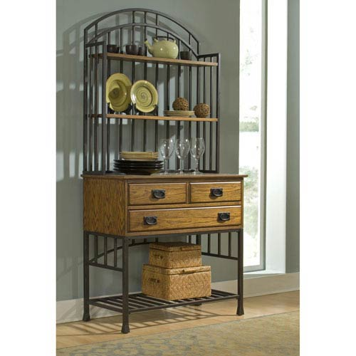 Home Styles Furniture Oak Hill Baker Rack
