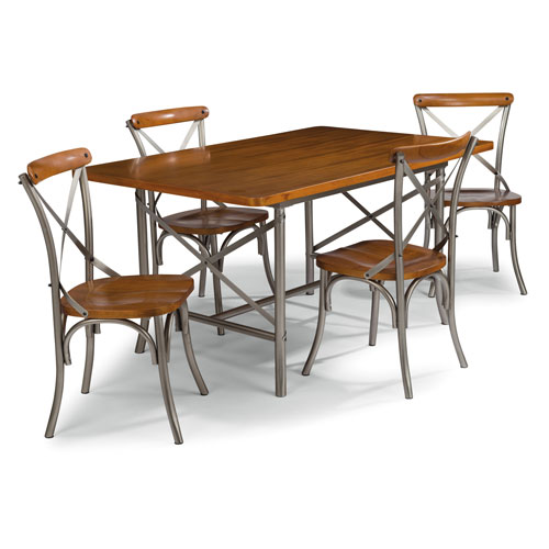 Home Styles Furniture Orleans 5 Piece Dining Group