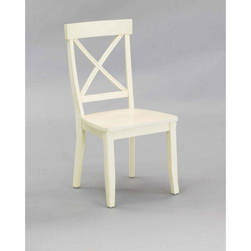 White Dining Chair, Set of Two