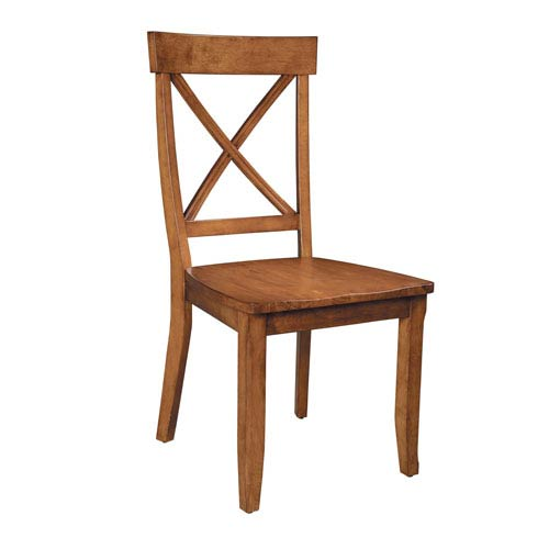 Cottage Oak Dining Chair, Set of Two