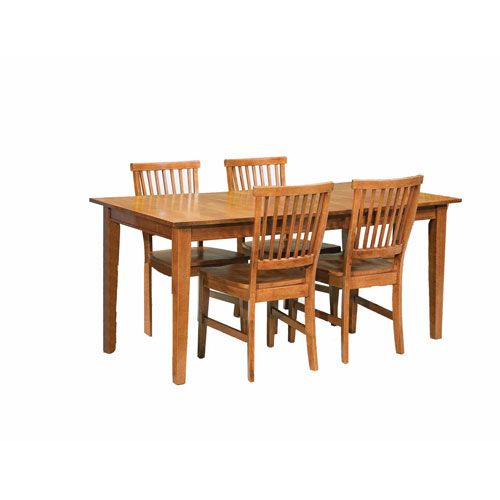 Home Styles Furniture Arts and Crafts Five-Piece Dining Set