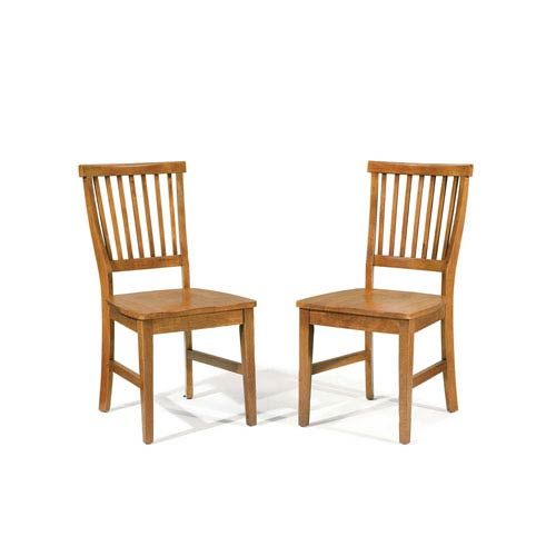 Home Styles Furniture Arts and Crafts Side Chair, Set of Two