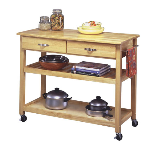 Genial Home Styles Furniture Solid Wood Top Kitchen Cart