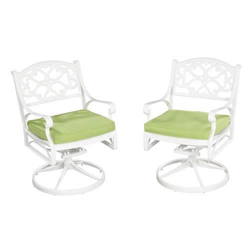 Green Apple Fabric Outdoor Seat Cushion